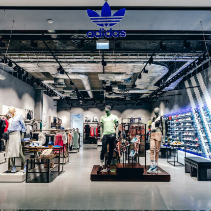 The first adidas Originals store in the Baltics has opened